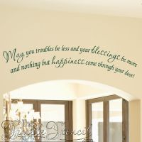 17+ best ideas about Wall Stencil Quotes on Pinterest