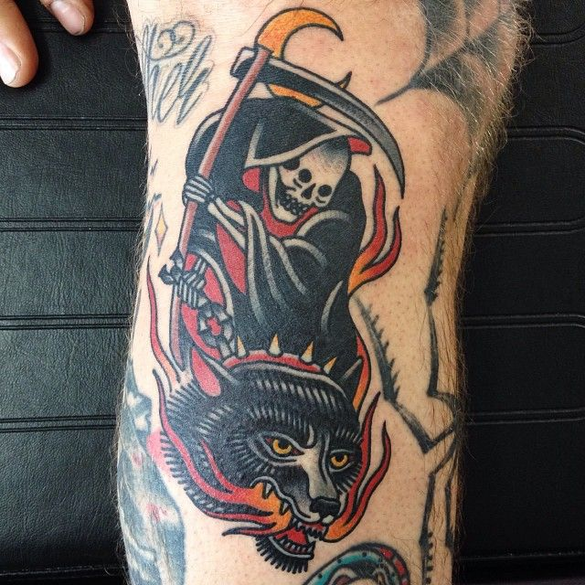grim reaper tattoo 19