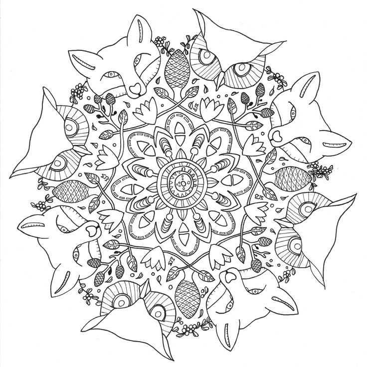 17 Best Images About Colouring Pages For Grown Ups On
