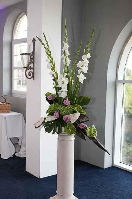 Center Table Flower Arrangements Wedding