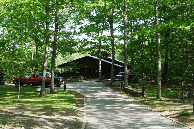 Crandalls Lodge in Tolland Connecticut is nestled in the woods by a beautiful pond There is
