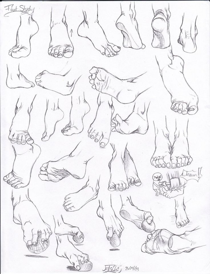 11 best images about How To Draw Hands and Feet on