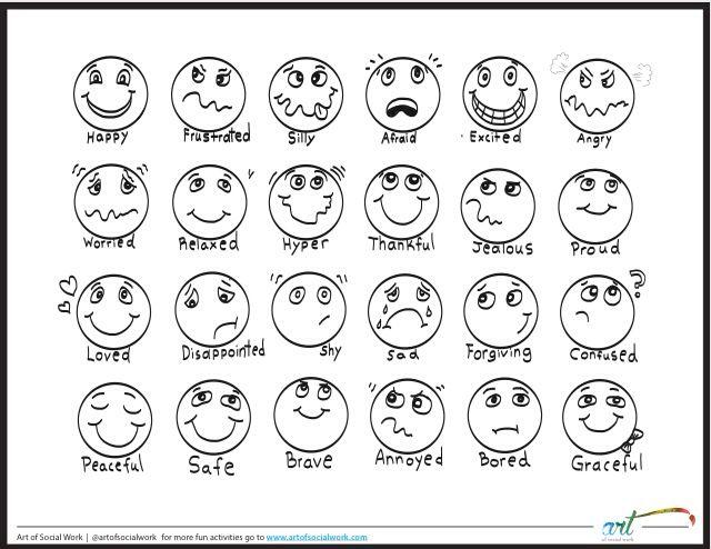 25+ best ideas about Feelings Chart on Pinterest