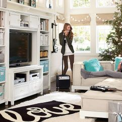 Tv Stand Living Room Modern Wall Pictures For I Love The Pbteen Cushy Hampton Lounge On Pbteen.com ...