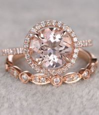 17 Best ideas about Rose Gold Rings on Pinterest   Wedding ...