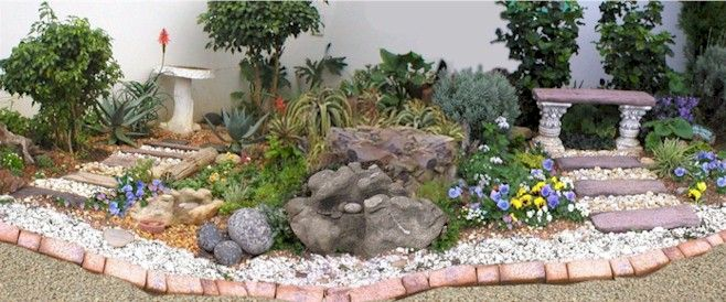 Rock Garden Ideas Designs Of Different Rock Gardens 658x274 In