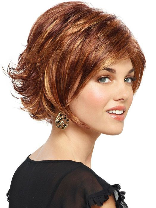 flipped up in the back short bob hairstyle  Google Search