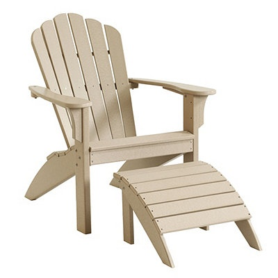 polywood classic adirondack chair golden tech lift chairs plastic ottoman - woodworking projects & plans