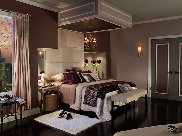 Purple Tones In The Bedroom Can Be Serene And Relaxing
