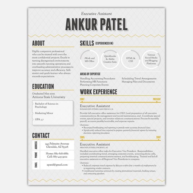 70 best images about resumeportfolio stuff on Pinterest
