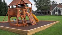 Tree house / Playground | Backyard Fun | Pinterest ...