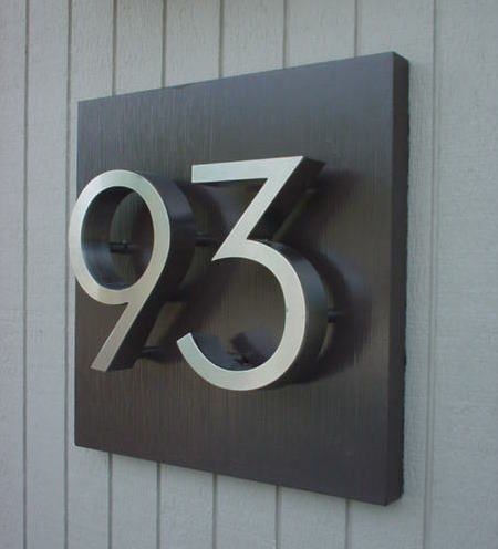 25 Best Ideas About House Numbers On Pinterest Address Numbers