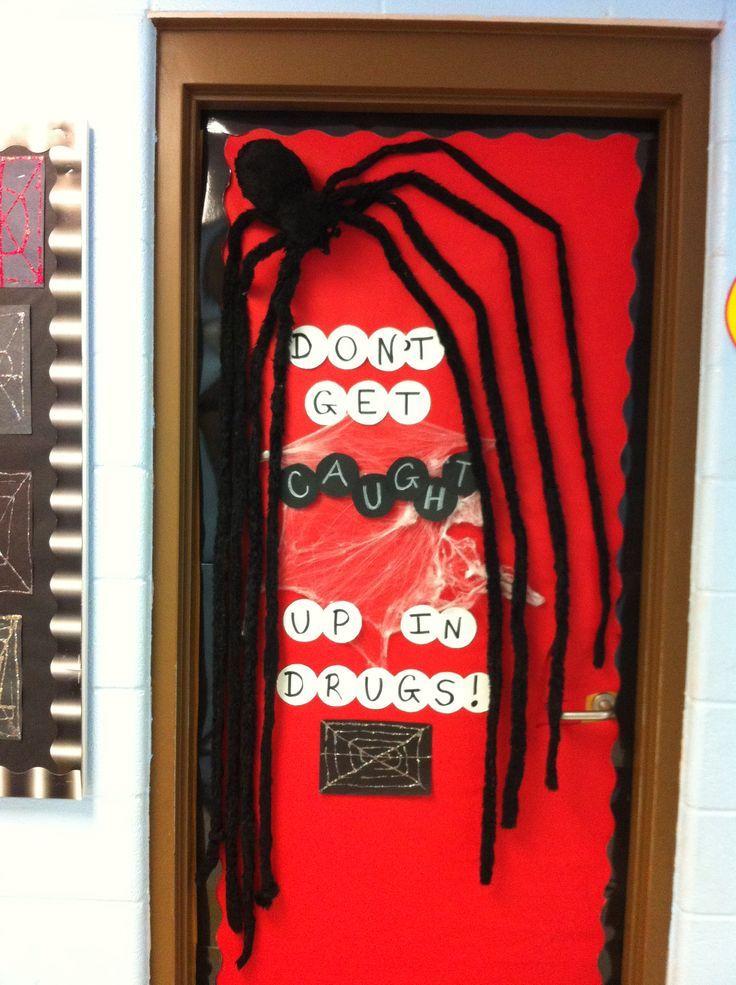 Halloween Drug Free Door Theme