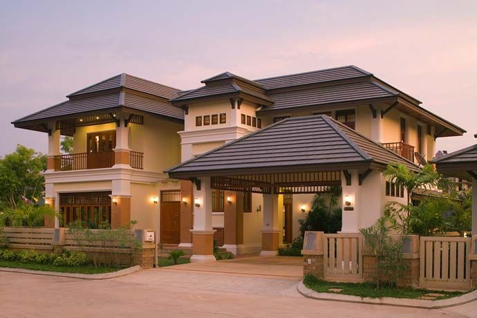 10 gorgeous asian inspired exterior design ideas house plans - Top Home Designs
