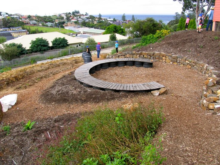 School Garden Design Reusing Tyres Garden Ideas Pinterest