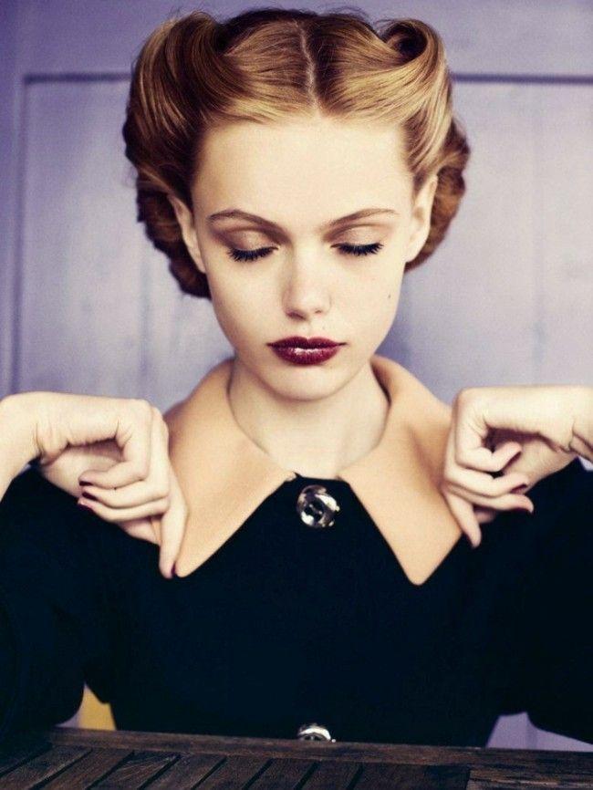 Die Besten 25 50er Frisuren Anleitungen Ideen Auf Pinterest