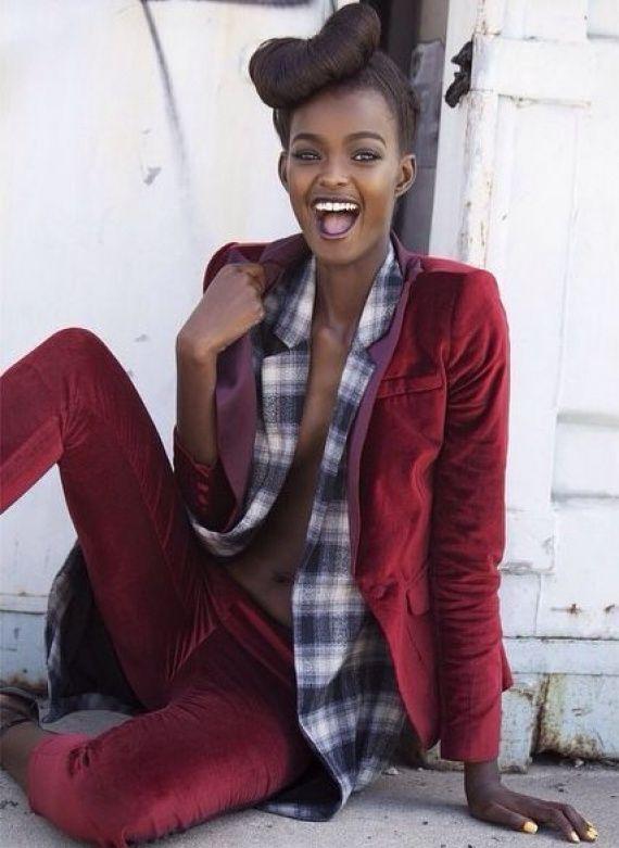 Adau Mornyang  Black fashion  Pinterest  Posts