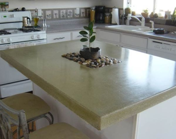 concrete kitchen countertops island 1000+ images about Concrete on Pinterest