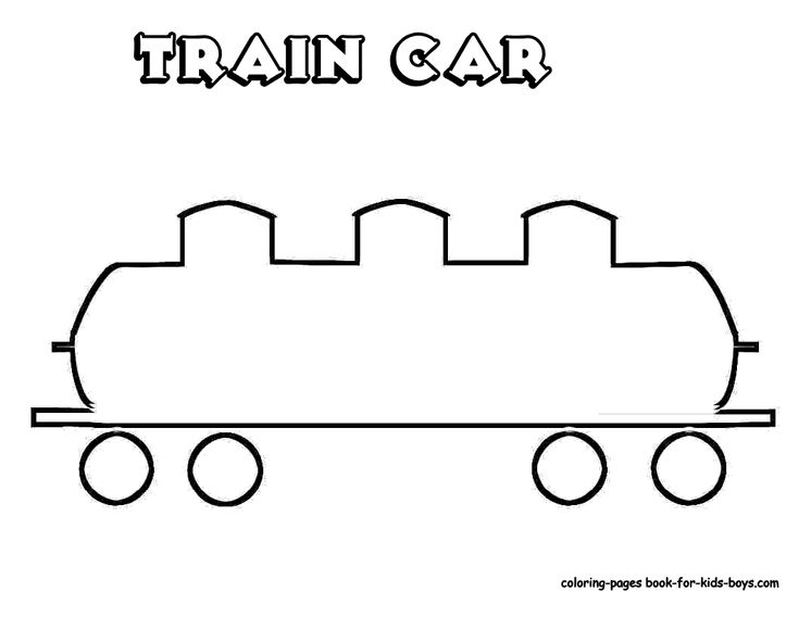 Train Template http://www.coloring-pages-book-for-kids