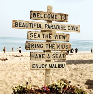 This is one of the beaches in Malibu.  Great place for families with a yummy res