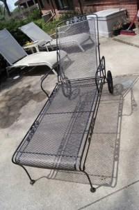 Woodard Vintage Chaise Salterini 1950's 60s Chair Mid ...