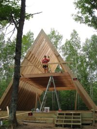 25+ best ideas about A frame house on Pinterest | A frame ...