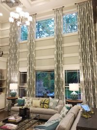 1000+ ideas about Tall Window Treatments on Pinterest ...
