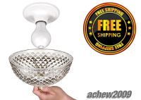 Classy Bare Exposed Bulb Clip-on Cover Shade Ceiling Desk ...