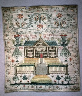 17 Best Images About ANTIQUE SAMPLERS On Pinterest