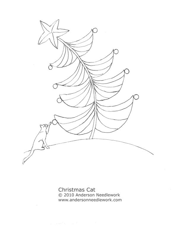 217 best images about Christmas Tree Embroidery on Pinterest