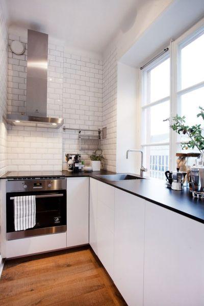 studio apartment kitchen 17 Best ideas about Small Kitchen Tiles on Pinterest