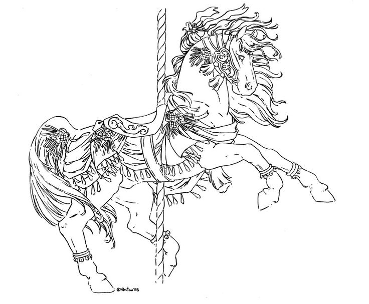 25+ best ideas about Carousel Horse Tattoos on Pinterest