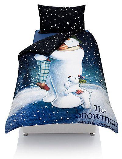 The Snowman  Snowdog Bedding Set with StayNEW  MS