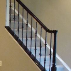Mobile Home Kitchen Remodel Portable Color: Glossy Black Staircase Handrail (not Style)   Paint ...