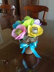 super cute nail polish bouquet
