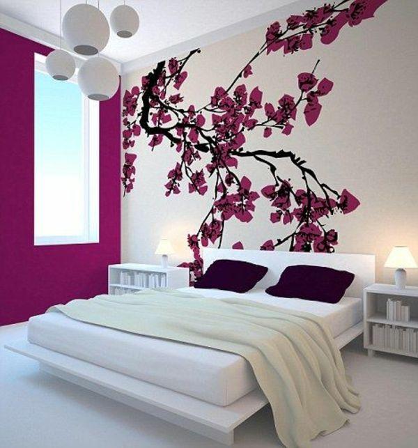 schlafzimmer farbideen schlafzimmer wande gestalten l | ld ... - Farbideen Schlafzimmer Wande Gestalten