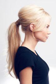 teased ponytail ideas
