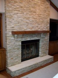 The Tile Shop: navajo stack fireplace | Fireplaces - A ...