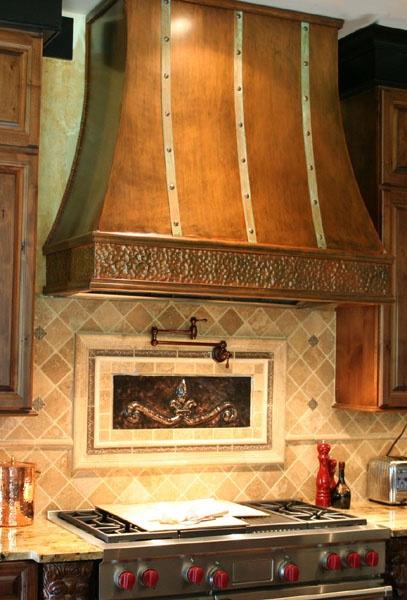 Copper Kitchen Hoods