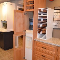 Kitchen Buffet Storage Cabinet Wooden Play Set Opened The Door For You. Now You Can See Water Cooler ...