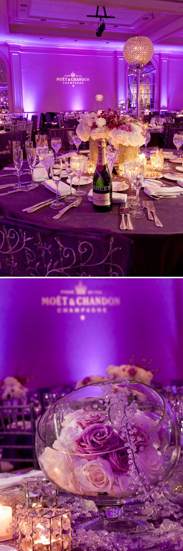 25+ best ideas about Purple wedding decorations on