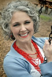 curly gray hair ideas