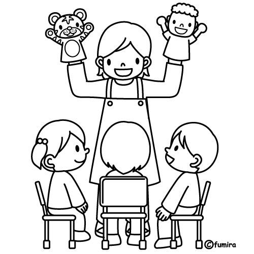 Ogilbie Puppet Coloring Page