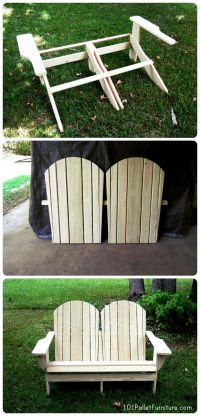1000+ images about Pallet Benches, Chairs & Stools on ...