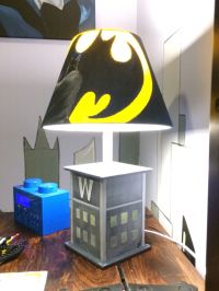 25+ best ideas about Batman lamp on Pinterest | Rustic ...