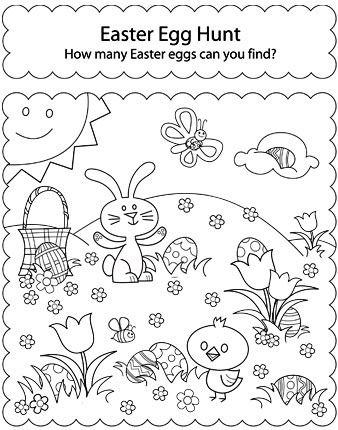 35 best images about Easter Worsksheets on Pinterest