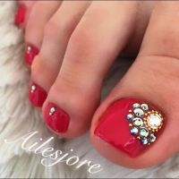 25+ best ideas about Pedicure nail designs on Pinterest ...