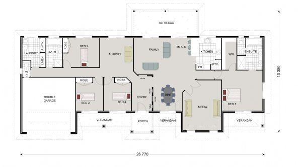 Longreach 300 Our Designs Queensland Builder GJ Gardner Homes