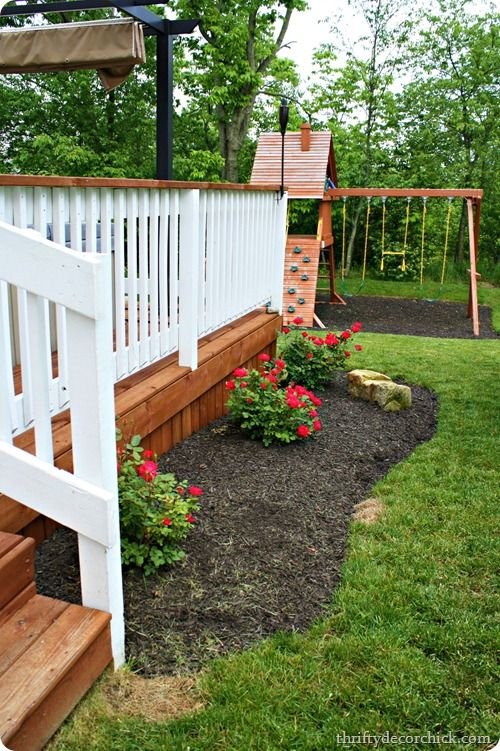 ideas deck landscaping