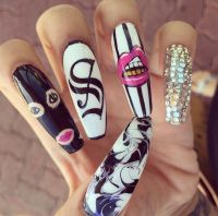 445 best images about Hideous WTF nails on Pinterest ...